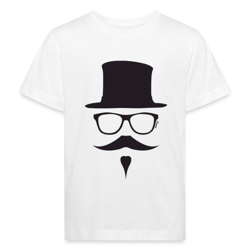 Moustachu Black (H) - T-shirt bio Enfant