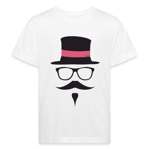 Moustachu Rose (H) - T-shirt bio Enfant