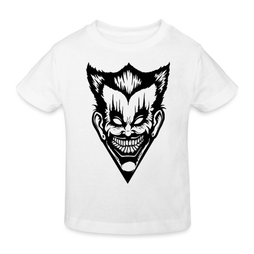 Horror Face - Kinder Bio-T-Shirt