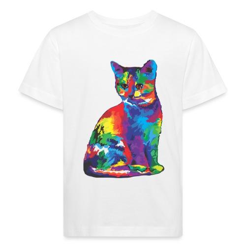 Katze - Kinder Bio-T-Shirt