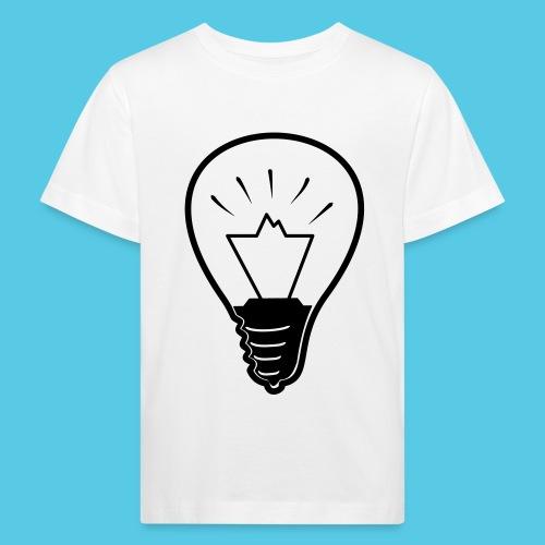 glühende Berge - Kinder Bio-T-Shirt
