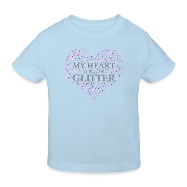 Glitzer Herz