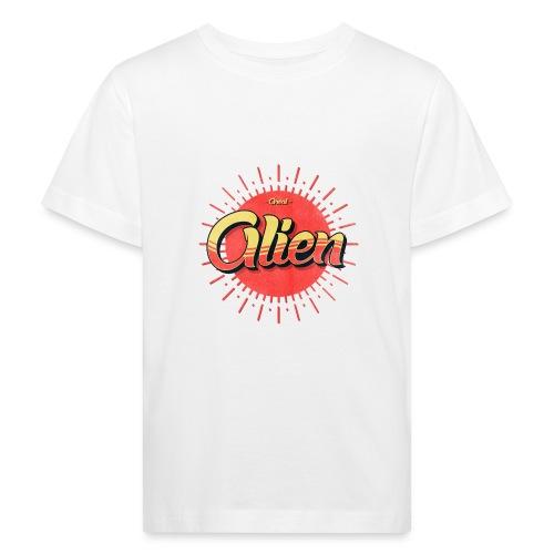 Alien Vintage Logo - Økologisk T-skjorte for barn