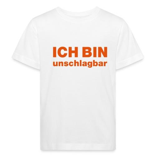 ICH BIN unschlagbar - Kinder Bio-T-Shirt
