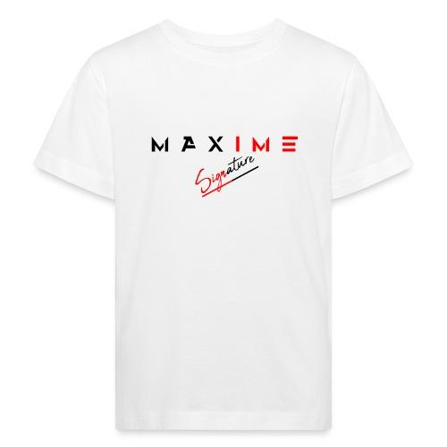 maxime signature - T-shirt bio Enfant