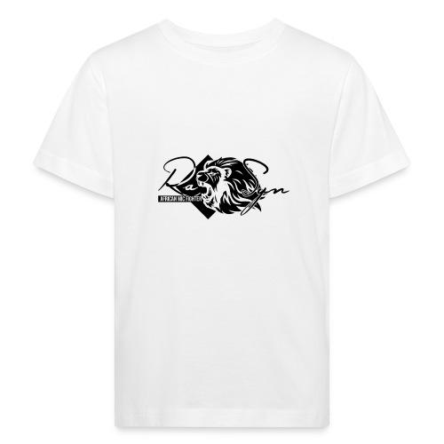 RaSyn Lion Black n White ® - Kinder Bio-T-Shirt