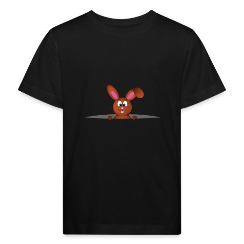 Cute bunny in the pocket - Maglietta ecologica per bambini