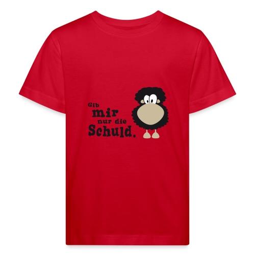 Gib mir nur die Schuld - Kinder Bio-T-Shirt