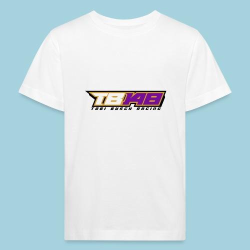 Tobi Logo schwarz - Kinder Bio-T-Shirt