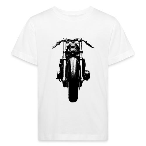 Motorcycle Front - Kids' Organic T-Shirt