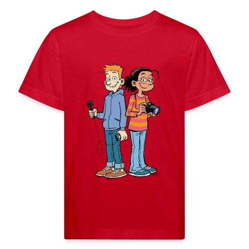 GEOlino Wadenbeißer-Comic: Redaktionsteam - Kinder Bio-T-Shirt