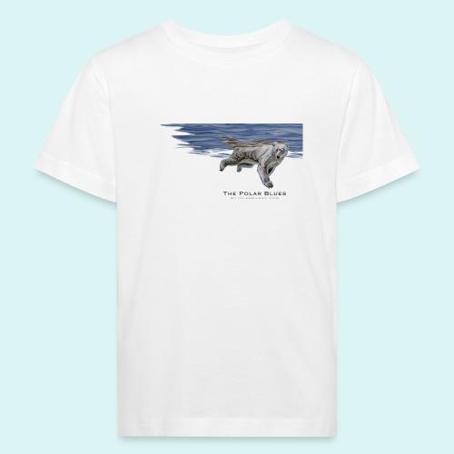 Polar-Blues-SpSh - Kids' Organic T-Shirt