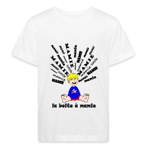 tee shirt mamie body boite à mamie cool déchire - T-shirt bio Enfant