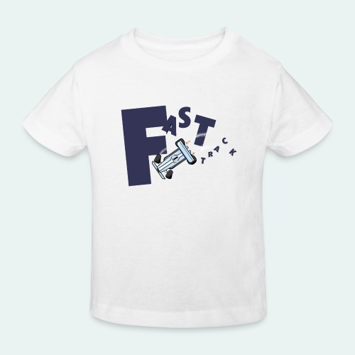 FAST Track 02 - T-shirt bio Enfant