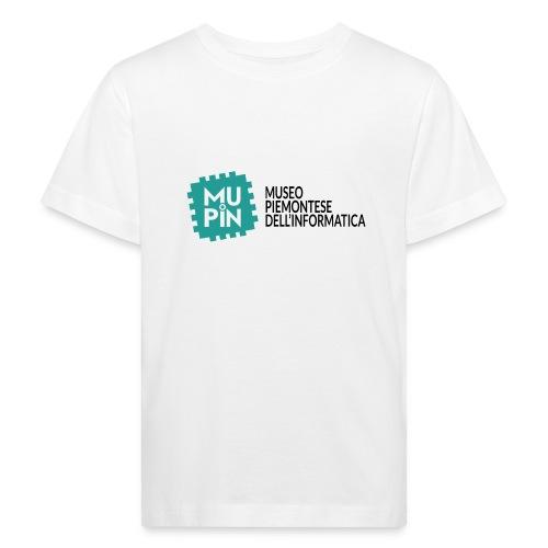 Logo Mupin con scritta - Maglietta ecologica per bambini