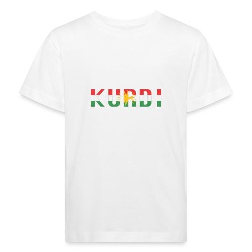 KURDI LOGO - Kinder Bio-T-Shirt