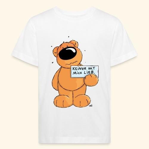 chris bears Keiner hat mich lieb - Kinder Bio-T-Shirt