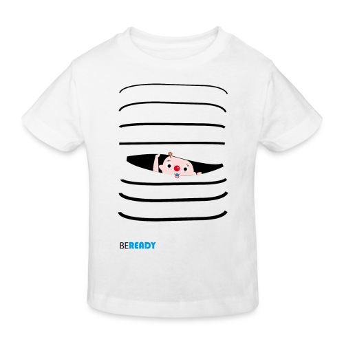 BEREADY_BOY.png - Kinderen Bio-T-shirt