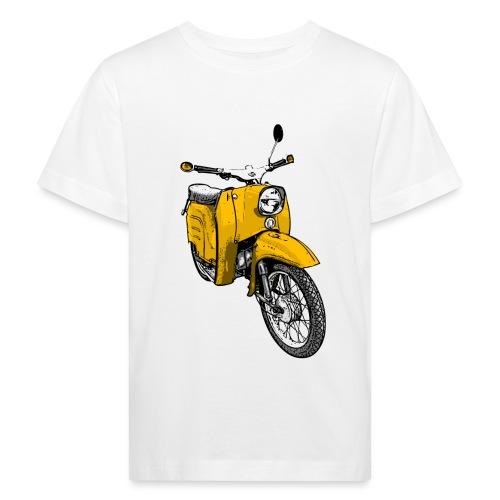 schwalbe gelb - Kinder Bio-T-Shirt
