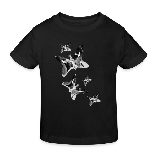 Schmetterlinge - Kinder Bio-T-Shirt