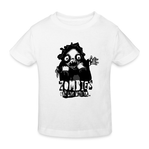 zombies - Cant live with em - Ekologisk T-shirt barn