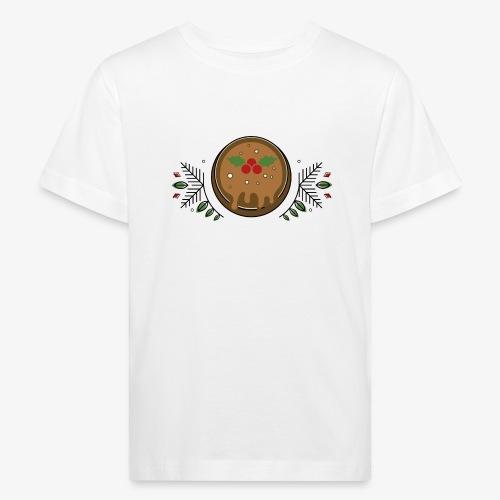 CHRISTMAS PUDDING - Kids' Organic T-Shirt