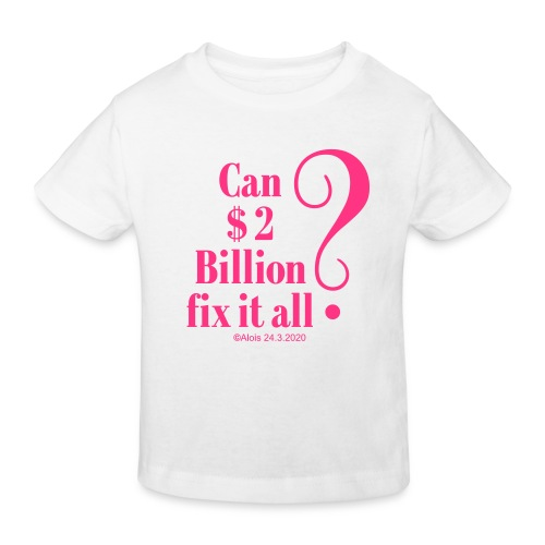 Billionaire - Kinder Bio-T-Shirt