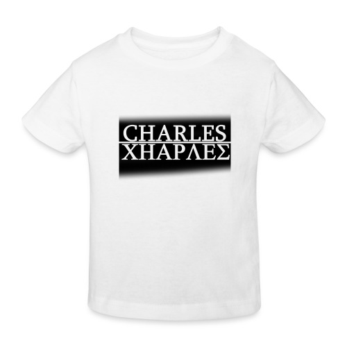 CHARLES CHARLES BLACK AND WHITE - Kids' Organic T-Shirt