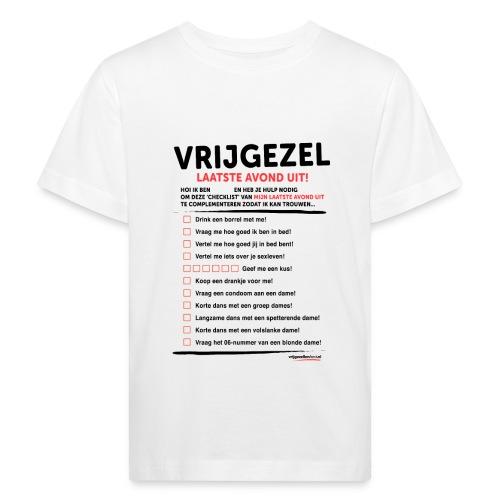 Laatste avond uit man - Kinderen Bio-T-shirt
