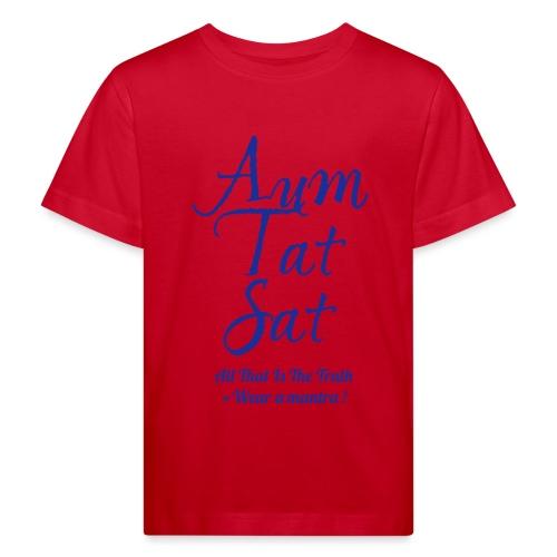 AUM TAT SAT - Maglietta ecologica per bambini