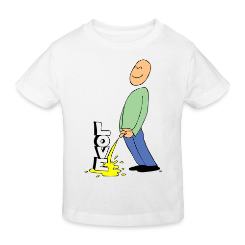 tissekopp farge - Økologisk T-skjorte for barn