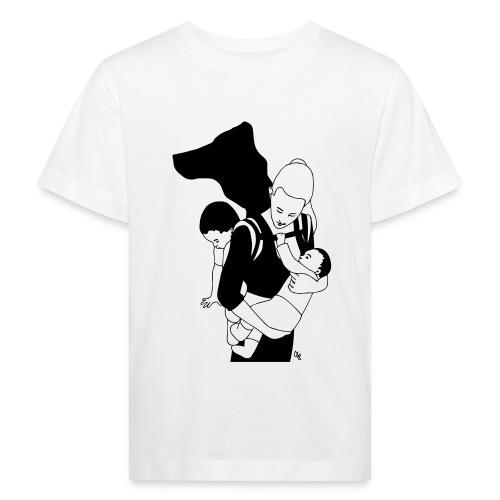 Babycarrying Super Hero Mom 05 - Ekologisk T-shirt barn