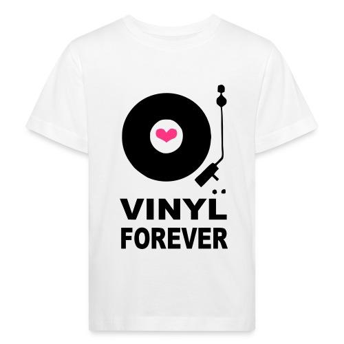 Vinyl Forever T-shirt - Kids' Organic T-Shirt