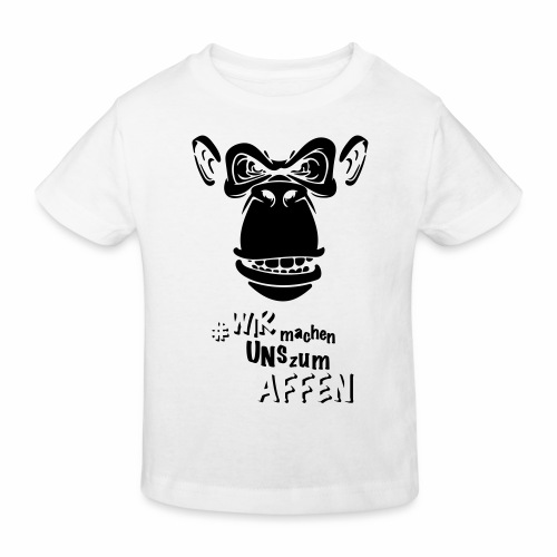 Angry Monkey - Kinder Bio-T-Shirt
