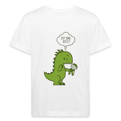 Bio-Dinosaurier - Kinder Bio-T-Shirt