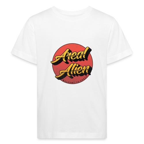 Alien Rusty Vintage Logo - Økologisk T-skjorte for barn