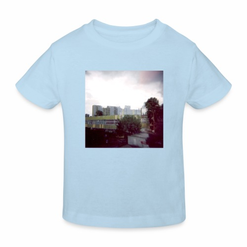 Original Artist design * Blocks - Kids' Organic T-Shirt