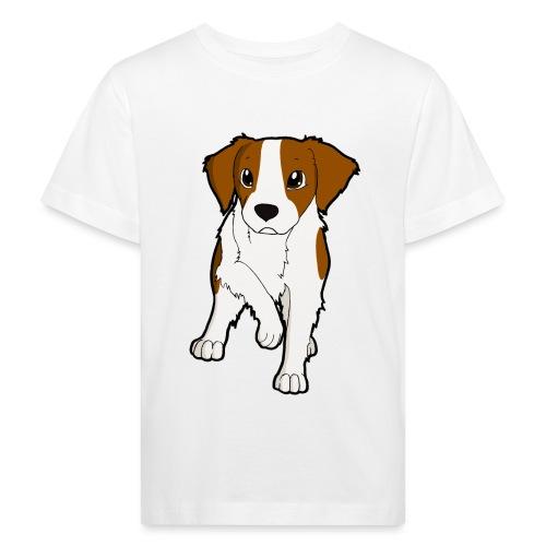 Breton bianco rosso - Maglietta ecologica per bambini