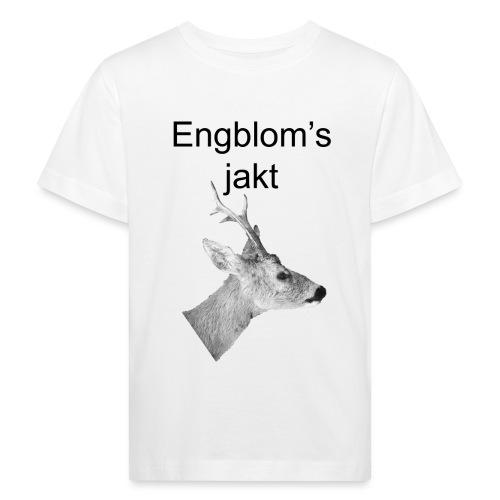 Officiell logo by Engbloms jakt - Ekologisk T-shirt barn