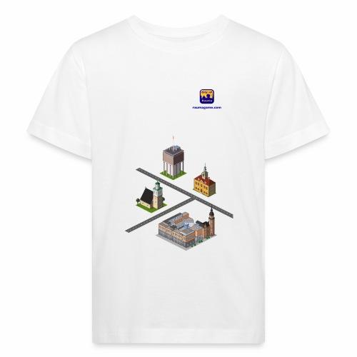 Raumagame mix for white/pale bg - Lasten luonnonmukainen t-paita