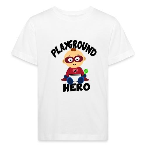 Playground Hero - Kinder Bio-T-Shirt