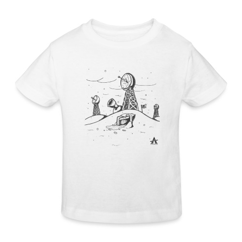 ligne de base arctique croquis - T-shirt bio Enfant