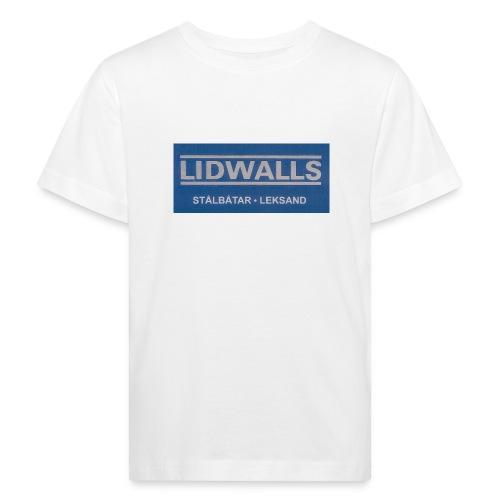 Lidwalls Stålbåtar - Ekologisk T-shirt barn