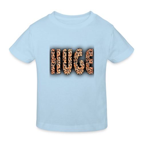 hugelogotje png - Kinderen Bio-T-shirt