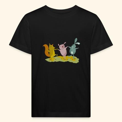 happy friends - Kids' Organic T-Shirt