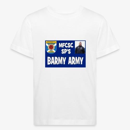Barmy Army - Kids' Organic T-Shirt