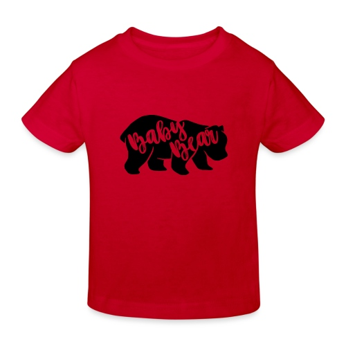 Baby Bear - für Eltern-Baby-Partnerlook - Kinder Bio-T-Shirt
