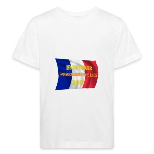 ELECTIONS 2017 - T-shirt bio Enfant