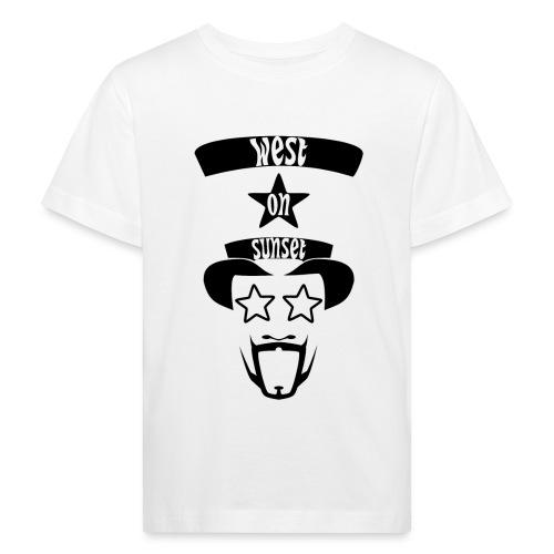 westonsunset_head - Kids' Organic T-Shirt
