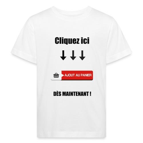 AJOUT AU PANIER - T-shirt bio Enfant